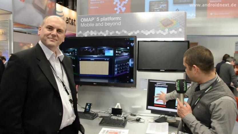 OMAP5: Interview mit TI zur neuen Prozessorgeneration [MWC 2012]
