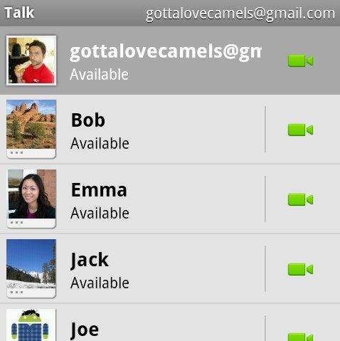 Google Talk Videochat ist da: Gingerbread-Update für Nexus S