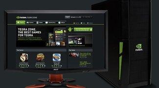 Nvidia Tegra Zone jetzt auch im Web