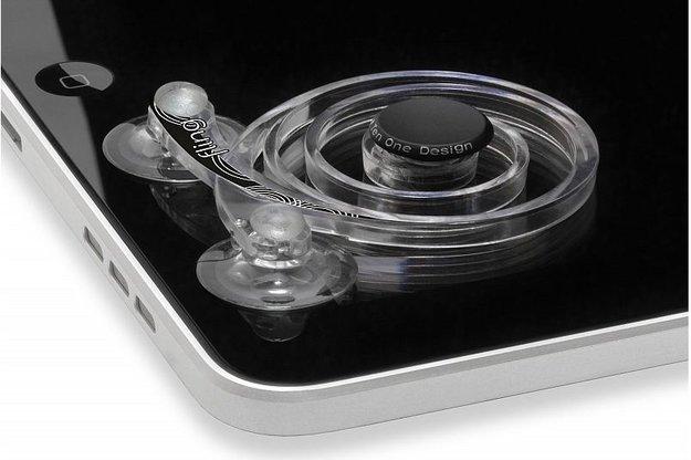 Ten One Fling: Gamepad-Aufsatz für Touchscreens [CES 2012]