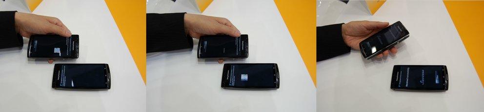 TransferJet: Pfeilschnelle Datenübertragung mit Android-Prototypen auf der IFA 2011