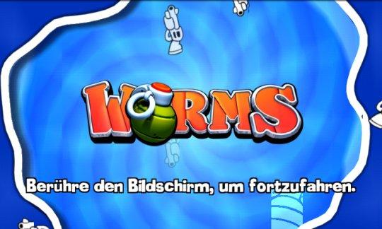 Worms für Android ist fertig und bereit zum Download