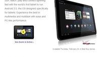 Motorola Xoom ab Donnerstag für 800 $ bei Best Buy