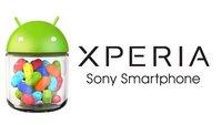 Sony Xperia: Fahrplan für Jelly Bean-Updates bekanntgegeben