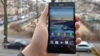 Sony Xperia Z: Farbkalibrierung in Japan per Update nachgeliefert, bald auch bei uns?