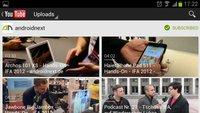 YouTube: Schicke neue Optik für Android 2.2 und 2.3