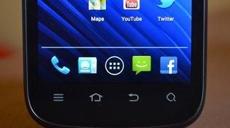 ZTE Grand X: Das Erwachen des Stock-Android-UI?