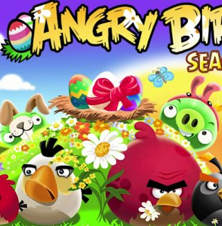Angry Birds Seasons Oster-Update ist da