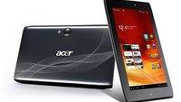 Acer Iconia Tab A100: 7 Zoll-Tablet mit Tegra 2 für 199 Euro