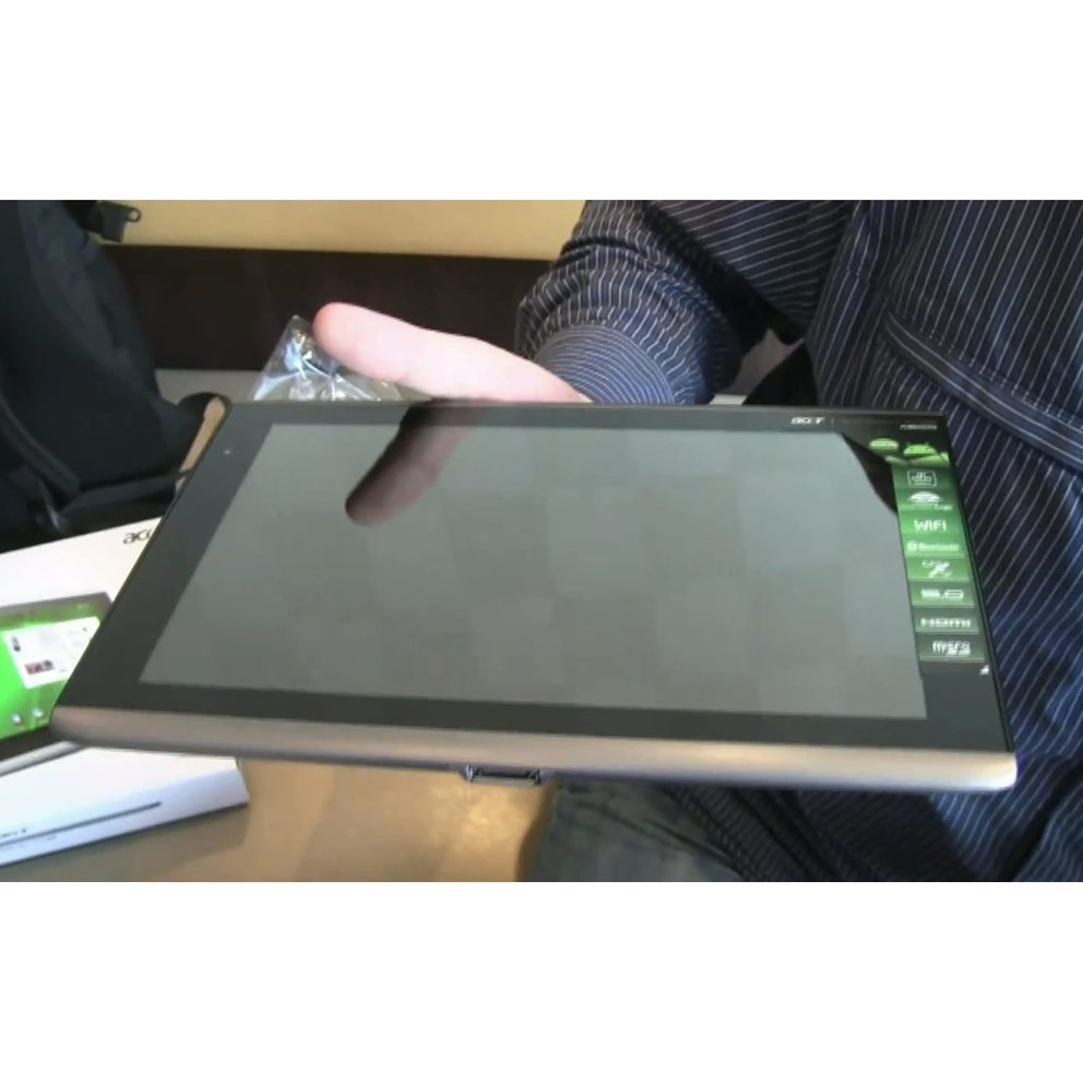 Acer Iconia Tab A500: Tegra 2-Tablet-Unboxing bei netbooknews