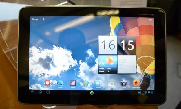 Acer Iconia A510: Hands-On vom Tegra 3-Tablet in der Olympia-Version [CeBIT 2012]