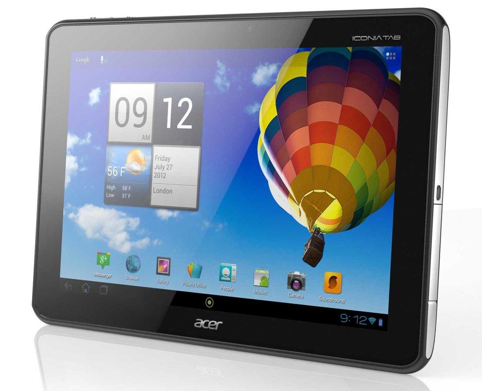 Acer Iconia Tab A510: Tegra 3-Tablet kommt im März für 399 Euro