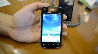 Acer Liquid Glow: Hands On-Video des Einsteiger-Smartphones [CeBIT 2012]