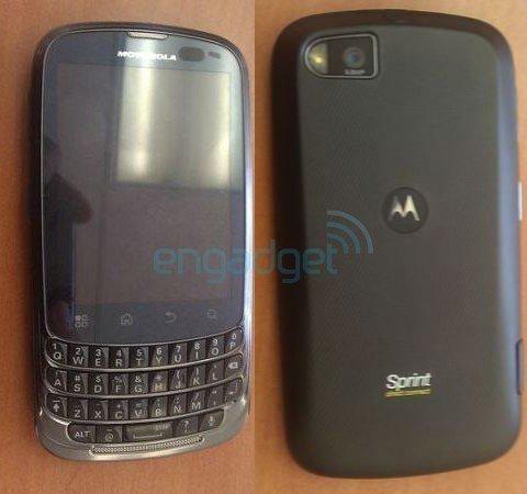 Motorola Admiral ist ein weiteres Android-Smartphone im BlackBerry-Look