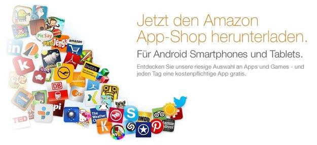 Amazon App-Shop: Alternativer Appstore in Deutschland gestartet