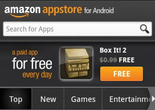 Amazon Appstore: Endlich auch in Deutschland verfügbar [Update: wieder geschlossen]