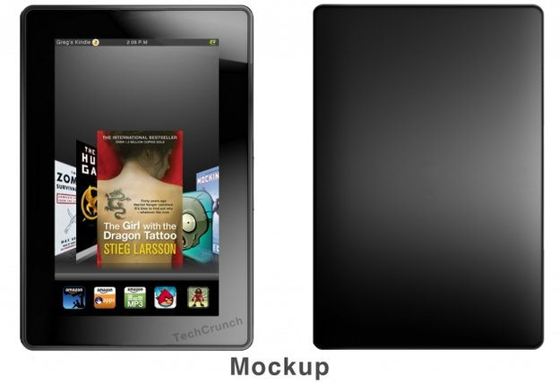 Kindle Fire: Name und neue Details zum Amazon-Tablet mit Android