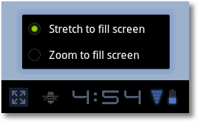 android 3.2 zoomstufen