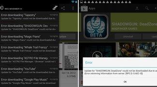 Android 4.2: Update-Fehler im Play Store beheben - so geht's