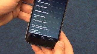 Android 4.2.2: Nexus 4 mit neuester OS-Version in Video gezeigt