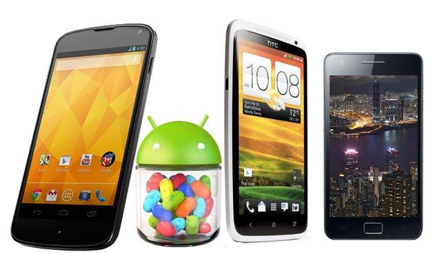 Android-Charts: Die beliebtesten androidnext-Artikel der Woche (KW 50, 2012)