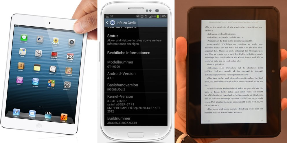 Android-Charts: Die beliebtesten androidnext-Artikel der Woche (KW 43, 2012)