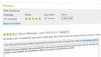 Google Play Store: Entwickler können auf App-Reviews antworten
