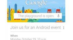 Android-Event: Am 29.10. werden Nexus 4, Key Lime Pie vorgestellt
