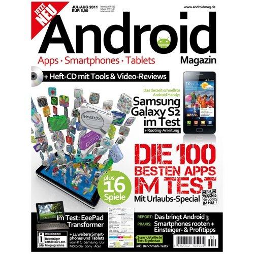 Android Magazin: Erstes deutsches Printmagazin zum Thema Android gestartet