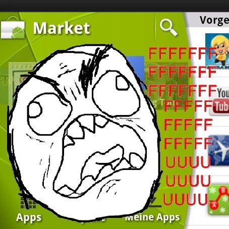 Der neue Android Market: 15 Minuten Unrühmlichkeit [Kommentar]