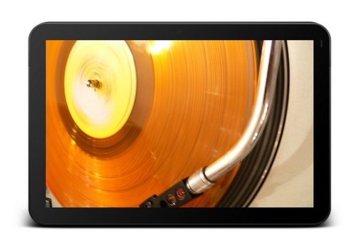 android tablet turntable music motorola xoom