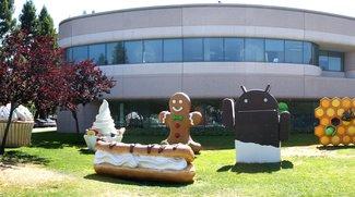 Android L: Maskottchenbauer nächste Woche am Googleplex&#x3B; Überraschungsprojekt angekündigt