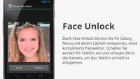 Face Unlock - Entsperrung durch Gesichtserkennung ist nicht effektiv