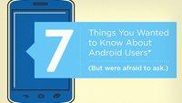Infografik: So tickt der (US-amerikanische) Android-User