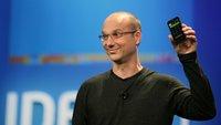 Andy Rubin: Android-Erfinder arbeitet an randlosem KI-Smartphone
