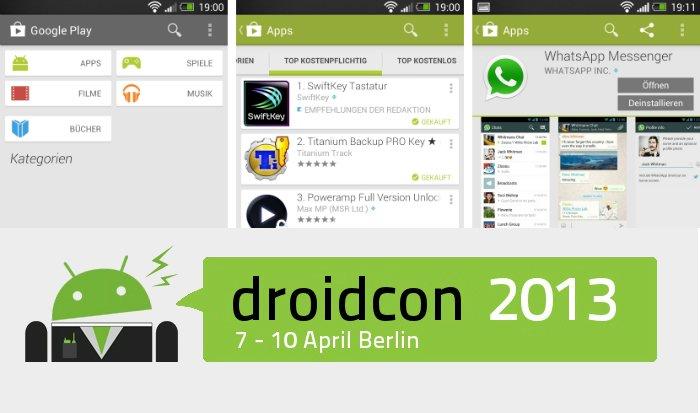 Android-Charts: Die lesenwertesten androidnext-Artikel der Woche (KW 15/2013)