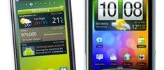 HTC Wildfire S und Samsung Galaxy Y im Angebot