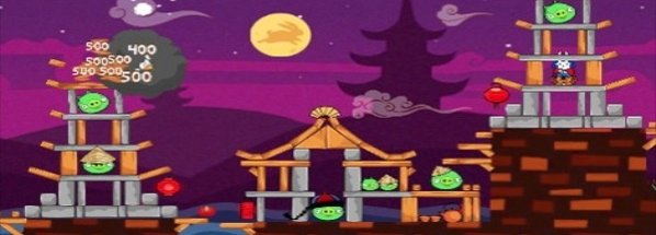 Angry Birds Seasons Mondfest