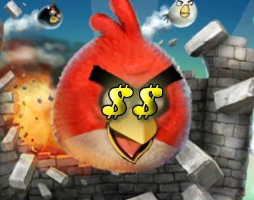 Angry Birds: 1 Mio. Dollar durch Werbeinnahmen - monatlich