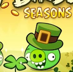 Angry Birds Seasons: St. Patrick's Day-Update ist da