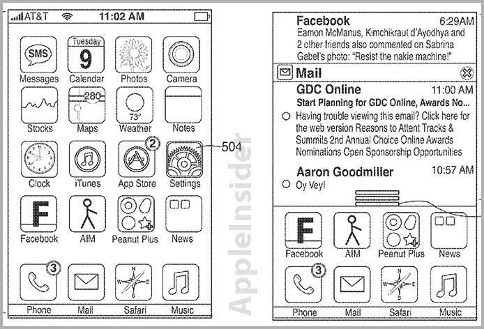 """Apple: Patentantrag auf iPhone-Benachrichtigungen – trotz Android-""""Inspiration"""""""