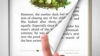 Apple: Patent auf Seitenumblättern in E-Book-App erhalten