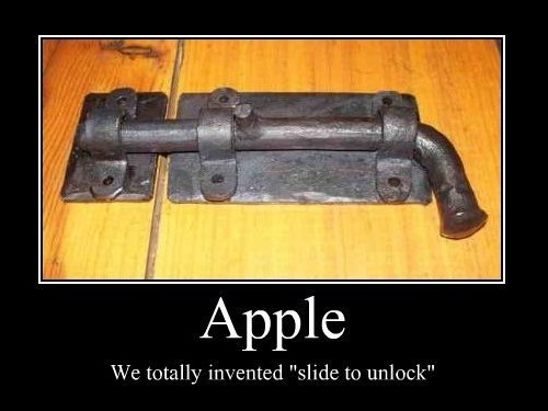 apple slide to unlock