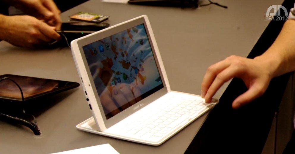Archos 101 XS: Tablet mit Tastatur im Hands-On [IFA 2012]