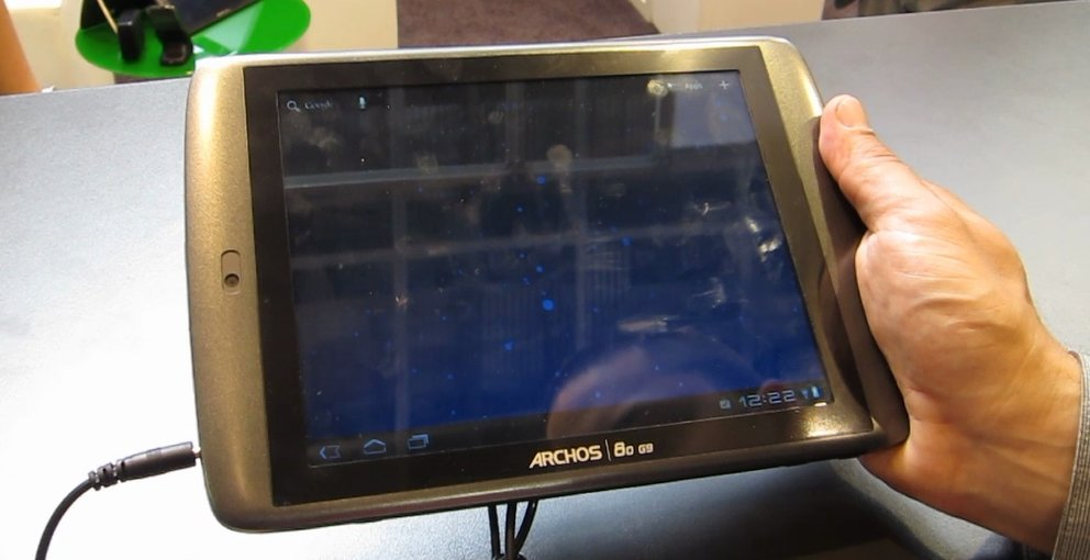 IFA 2011: Archos 80 9G-Tablet Hands On-Video