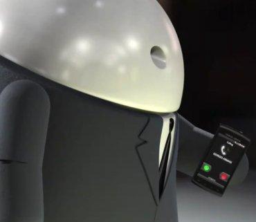 Armani GALAXY S von Samsung: Android-Maskottchen mit coolem Werbeauftritt