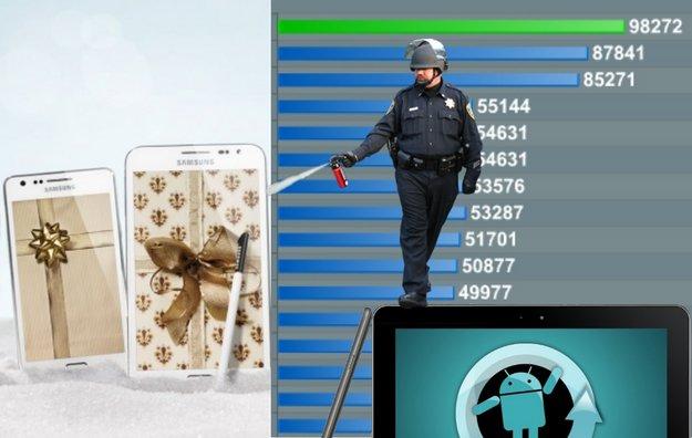 Android-Charts: Die beliebtesten androidnext-Artikel der Woche (KW 47, 2011)