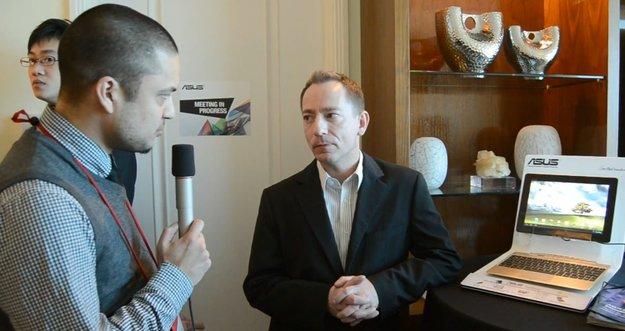 ASUS Deutschland: Kurzinterview mit Pressesprecher Holger Schmidt [CES 2012]