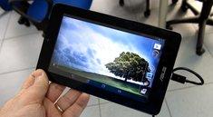 Google: Zuspruch für günstige Tablets von Acer & Asus, MeMo Pad im Hands-On