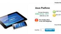 ASUS Padfone: Vorbestellung in Großbritannien möglich [ASUS dementiert Preise]